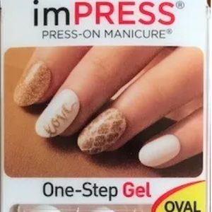Impress Nails White Gold Love Limited Edition